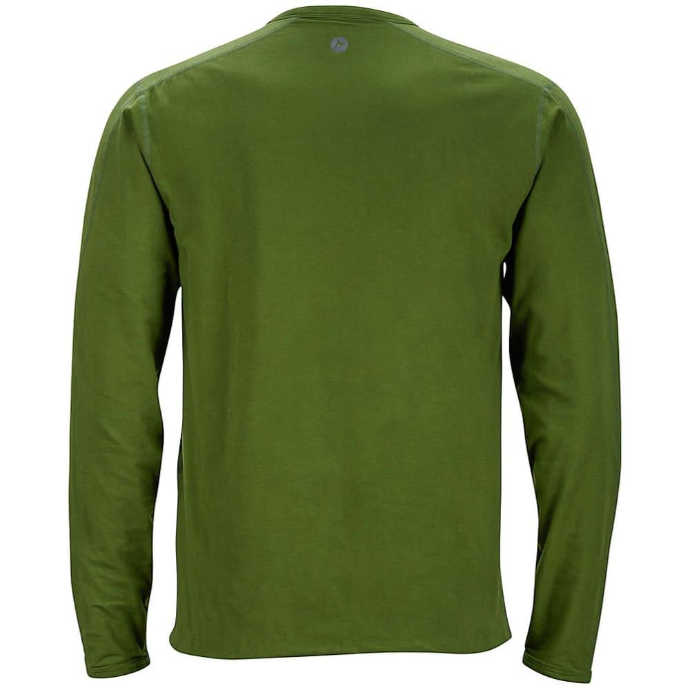 MARMOT Men's Folsom Reversible Shirt, L/S - GREENLAND