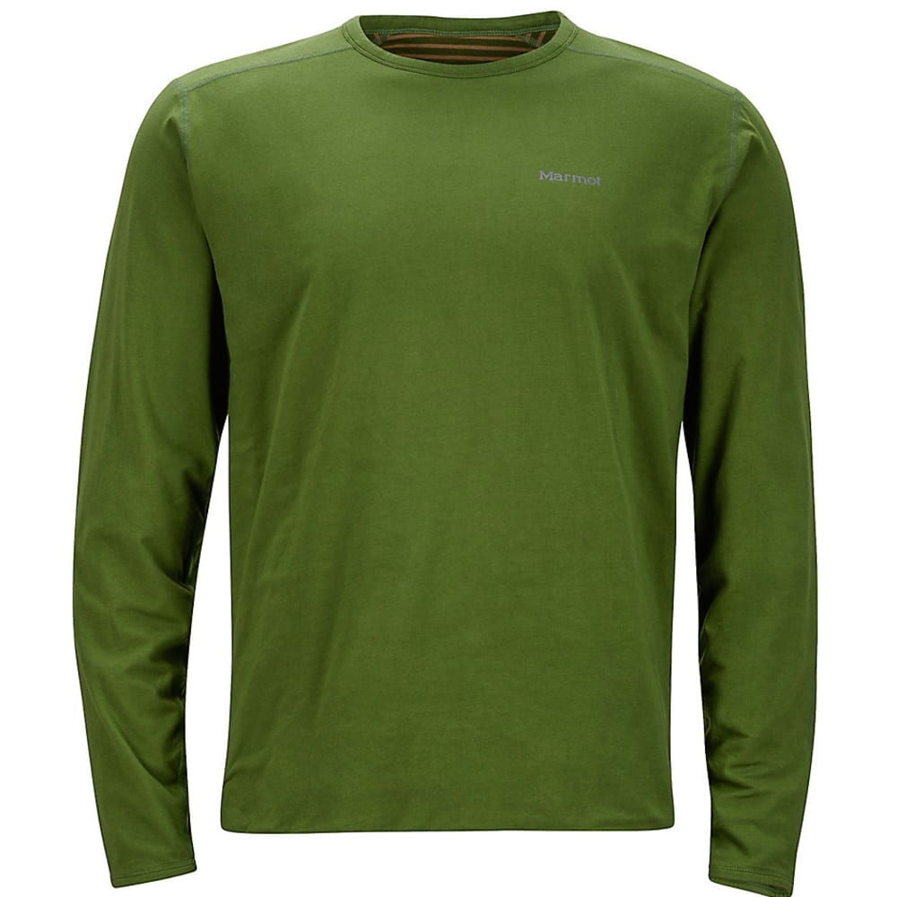 MARMOT Men's Folsom Reversible Shirt, L/S - GREENLAND