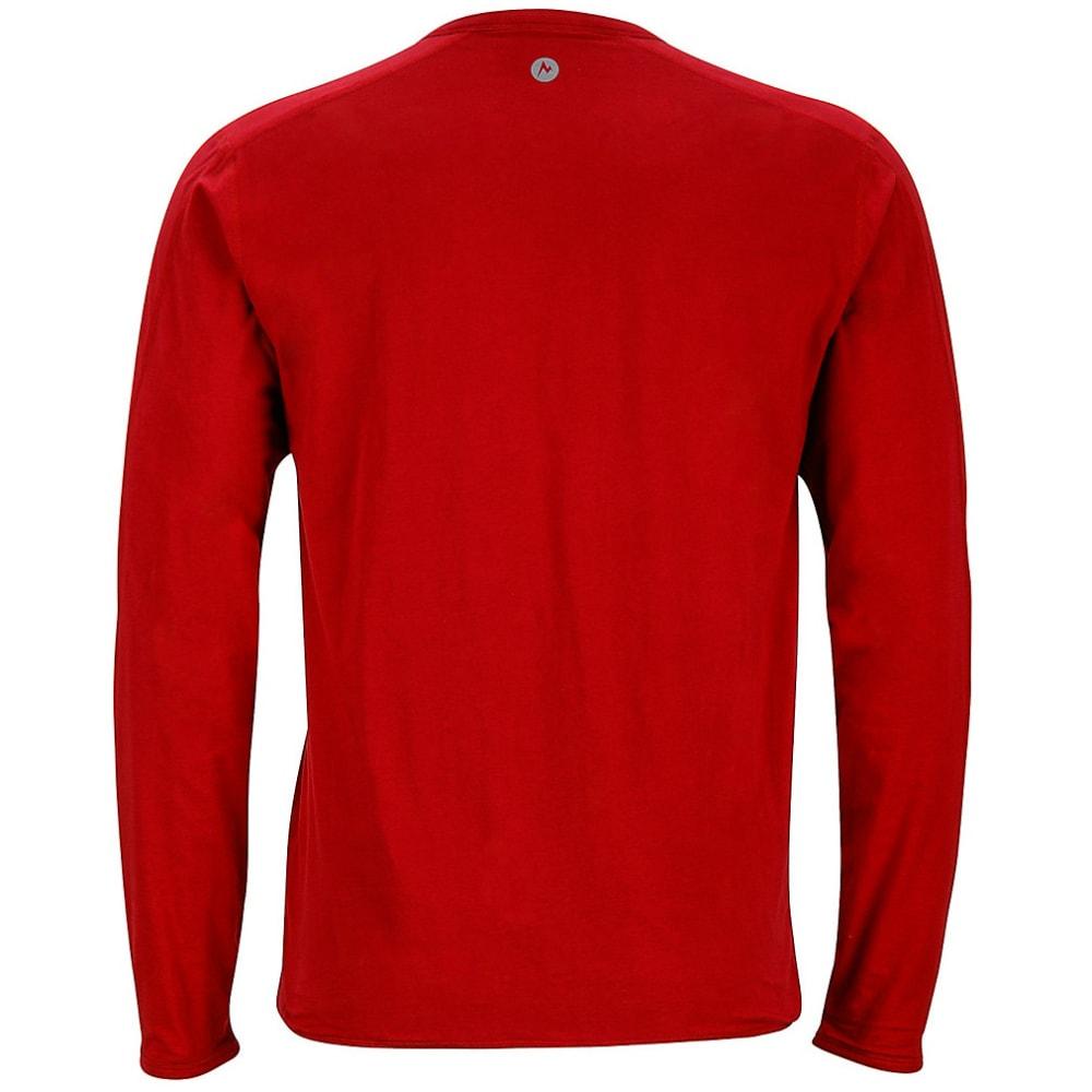 MARMOT Men's Folsom Reversible Shirt, L/S - BRICK