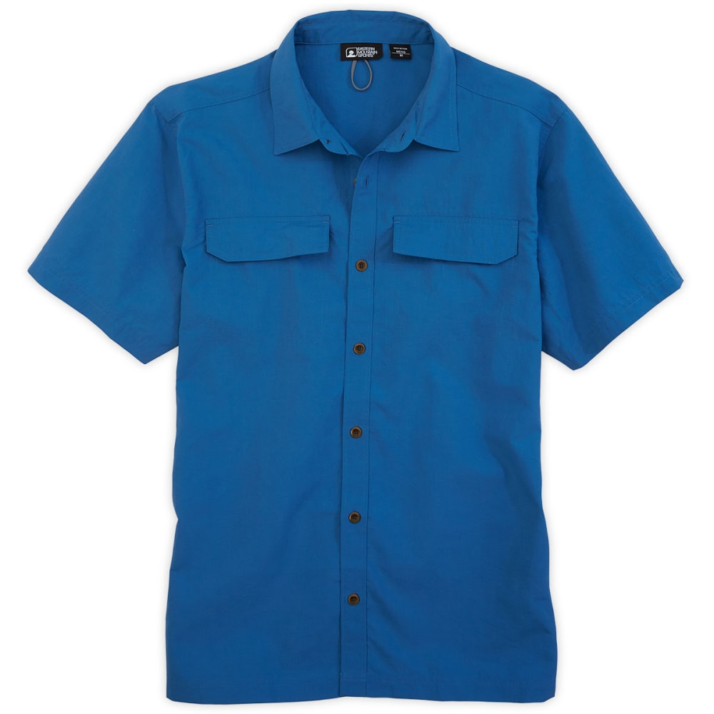 EMS® Men's LTD Camp Shirt, S/S - VALLARTA BLUE
