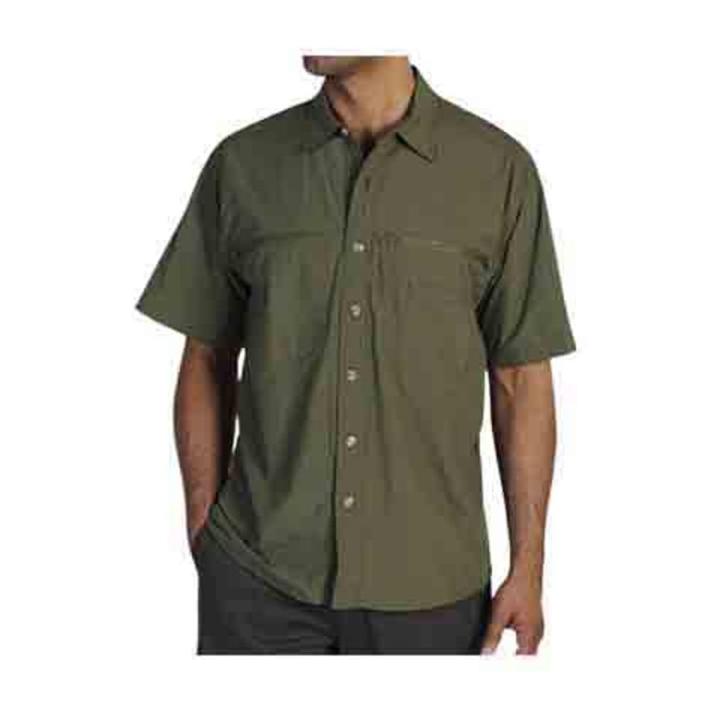 EXOFFICIO Men's Reef Runner Shirt, S/S - ALGAE