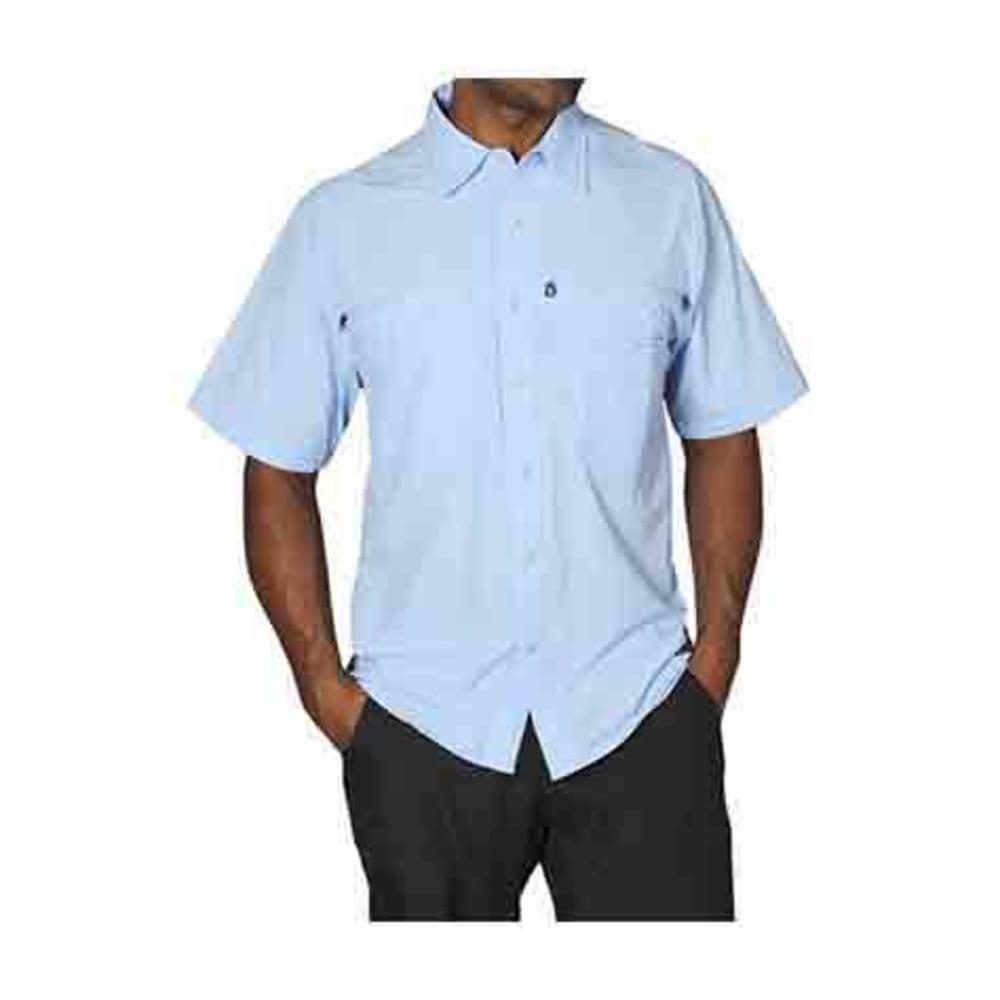 EXOFFICIO Men's Reef Runner Shirt, S/S  - LT LAPIS