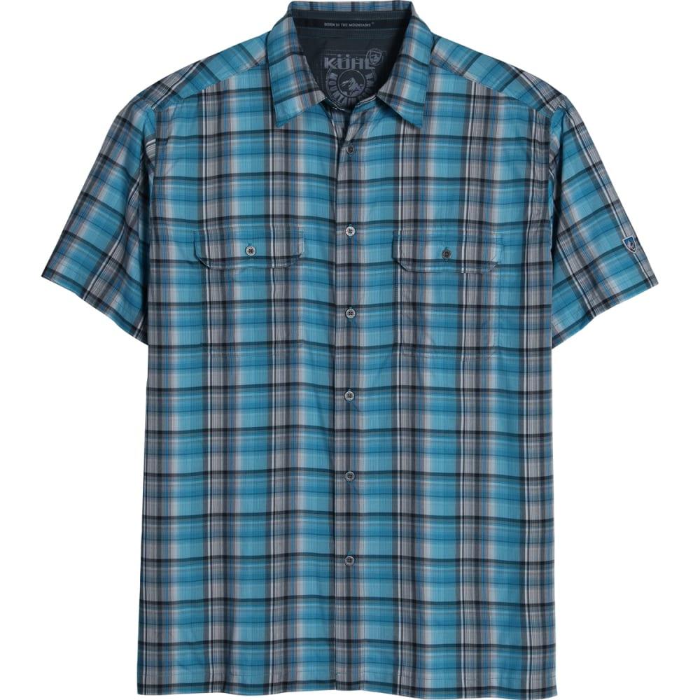 KÜHL Men's Response Shirt, S/S  - BLUE PTRND