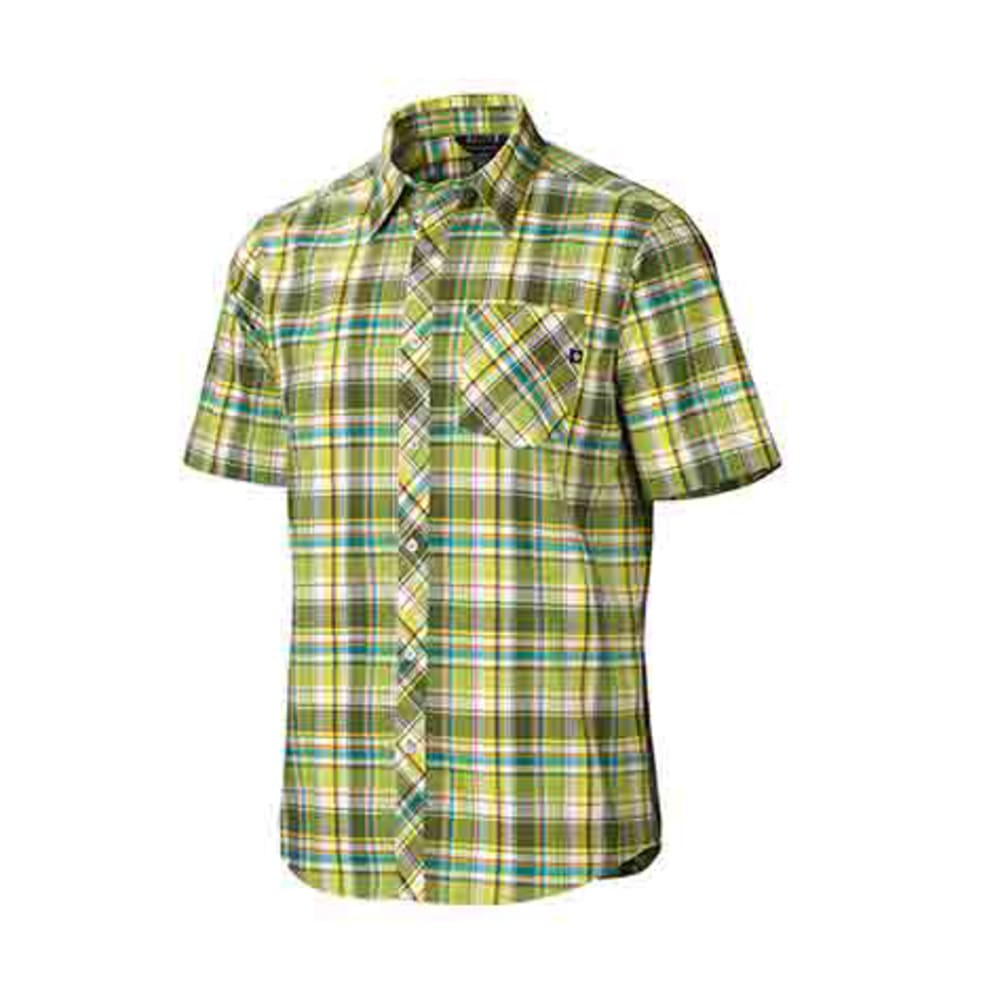 MARMOT Men's Homestead Shirt, S/S - GREEN ENVY