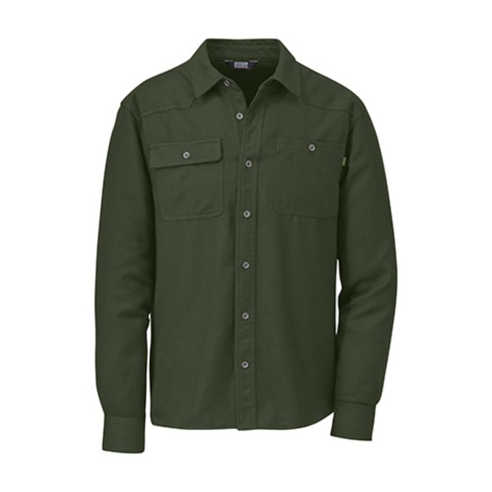 OUTDOOR RESEARCH Men's Feedback Flannel Shirt - EVERGREEN