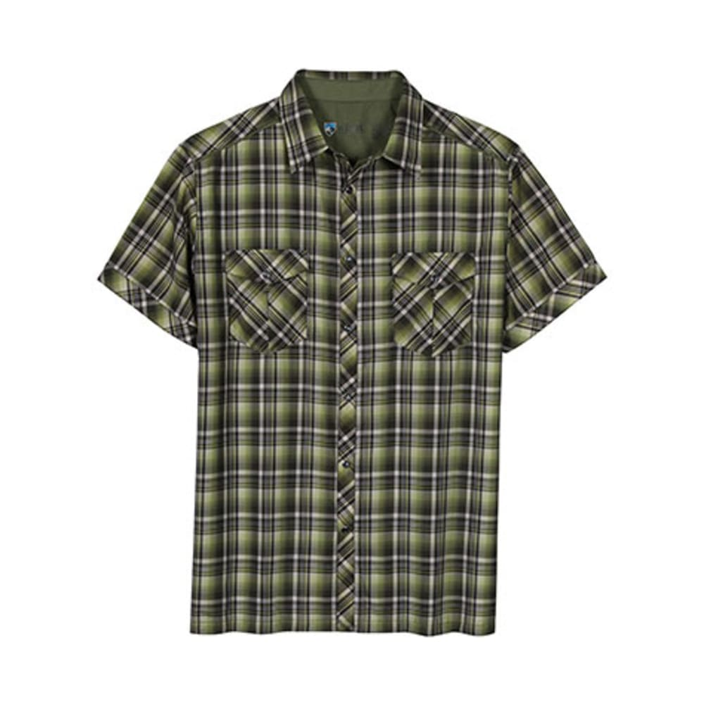 KÜHL Men's Konquer Shirt, S/S    - CITRON