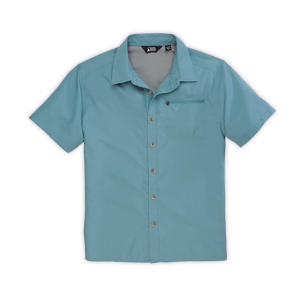 EMS® Men's Compass Short-Sleeve Short - MINERAL BLUE