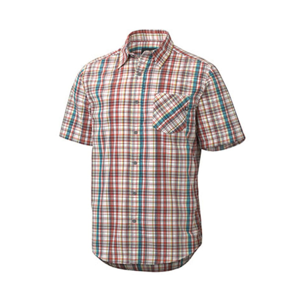 MARMOT Men's Mitchell Shirt, S/S - CLOVER
