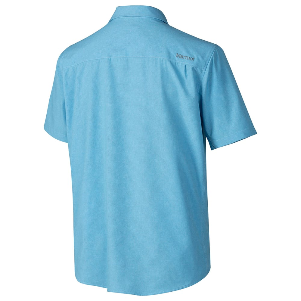 MARMOT Men's Goat Peak Shirt - CRYSTAL BLUE