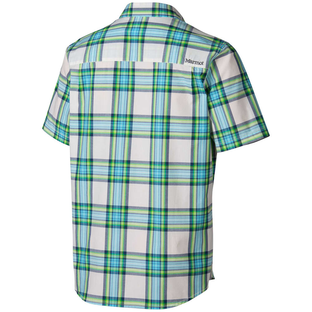 MARMOT Men's Baker Short-Sleeve  Shirt - GREEN ENVY