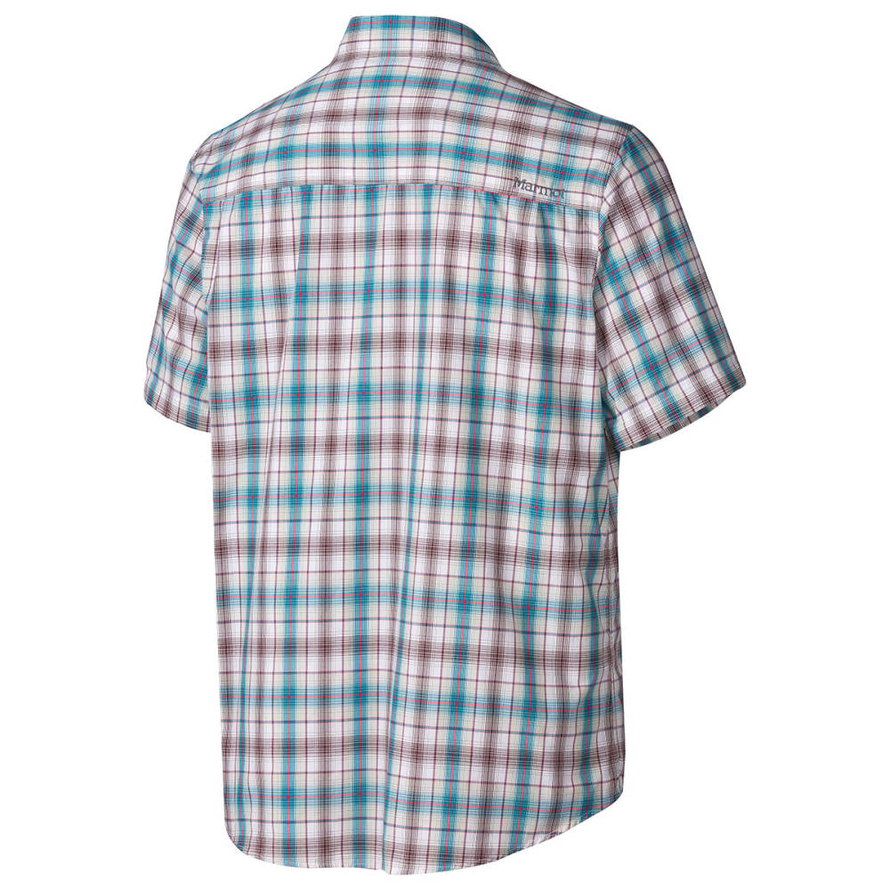 MARMOT Men's Northside Short Sleeve Shirt - ARCTIC