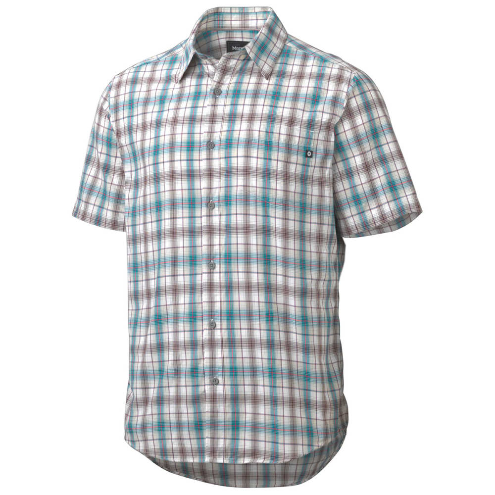 MARMOT Men's Northside Short-Sleeve  Shirt - ARCTIC