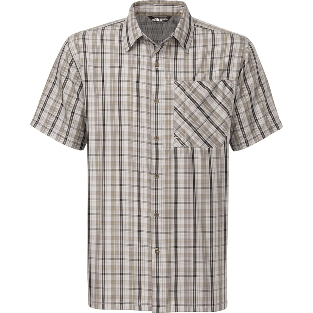 THE NORTH FACE Men's Paramount Short-Sleeve Shirt - HIGH RISE GREY HEATH