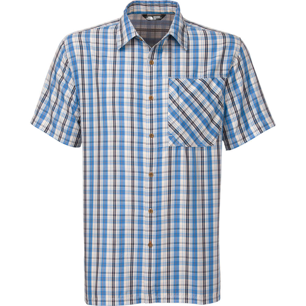 THE NORTH FACE Men's Paramount Short-Sleeve Shirt - BLUE
