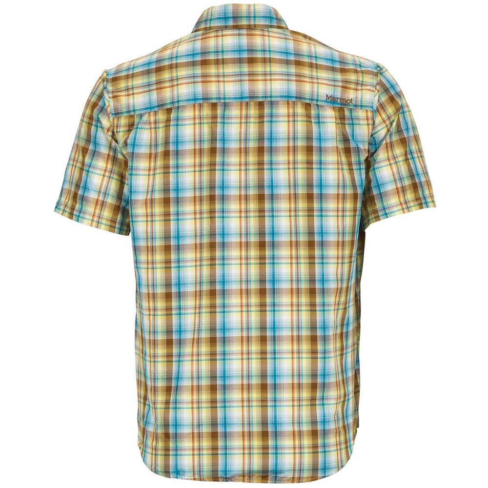MARMOT Men's Trailhead S/S Shirt - GREEN LICHEN