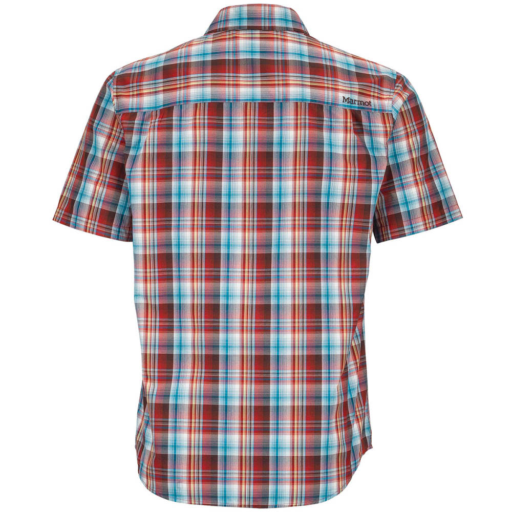 MARMOT Men's Trailhead S/S Shirt - RED