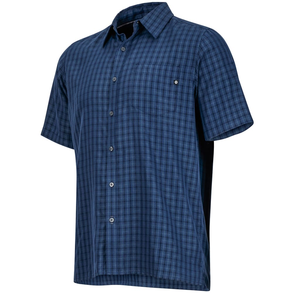 MARMOT Men's Eldridge Short-Sleeve Button Up - VINTAGE NAVY