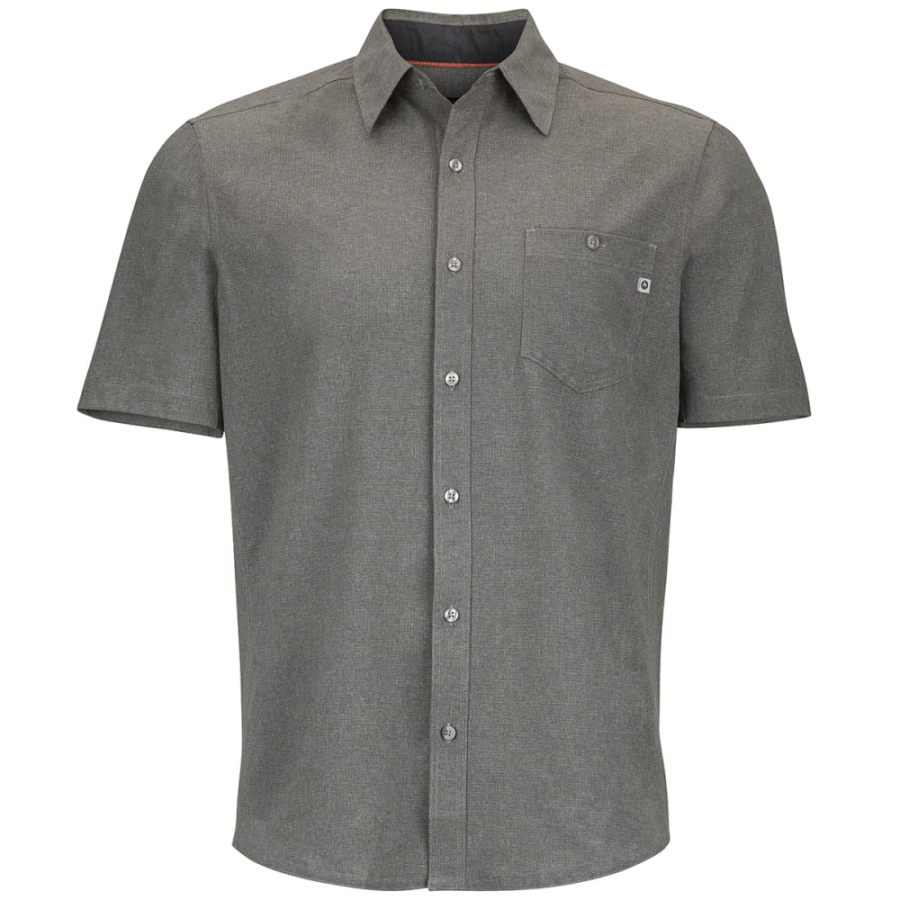 MARMOT Men's Windshear Short-Sleeve Shirt - 1415-CINDER