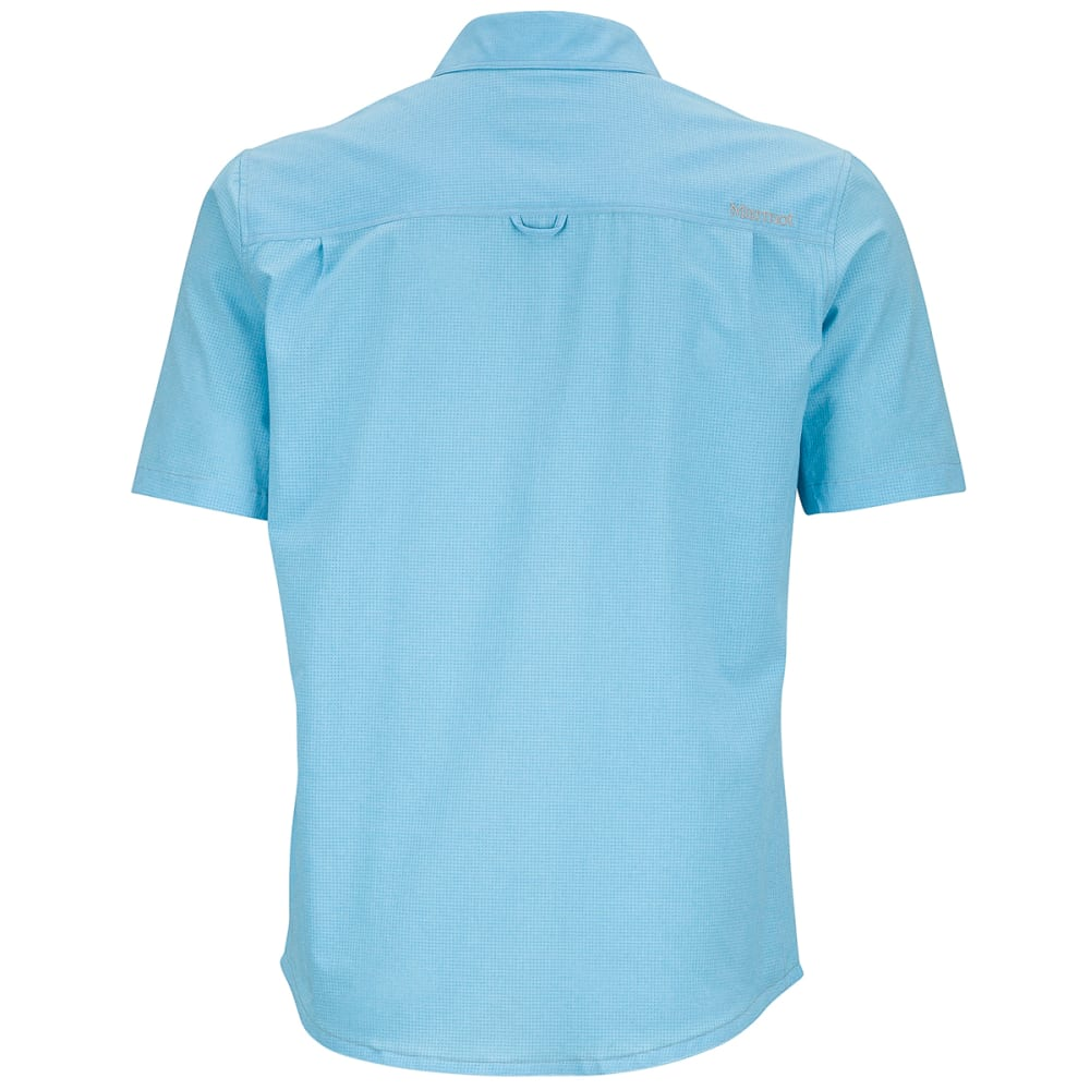 MARMOT Men's Windshear Short-Sleeve Shirt - AIR BLUE