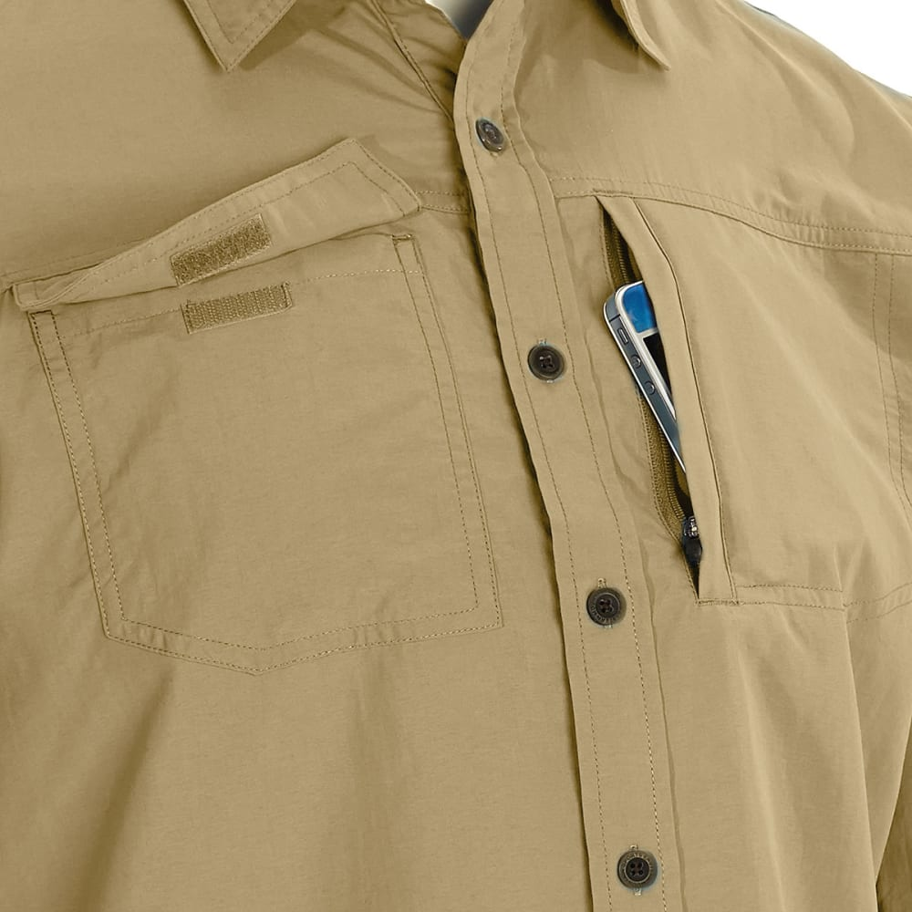 EMS® Men's Trailhead Short-Sleeve Shirt - KELP TAN