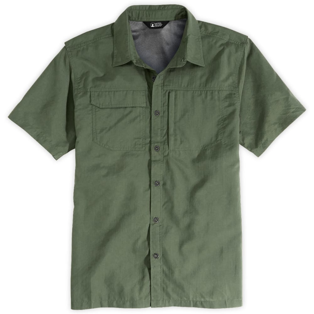 EMS® Men's Trailhead Short-Sleeve Shirt  - CLOVER