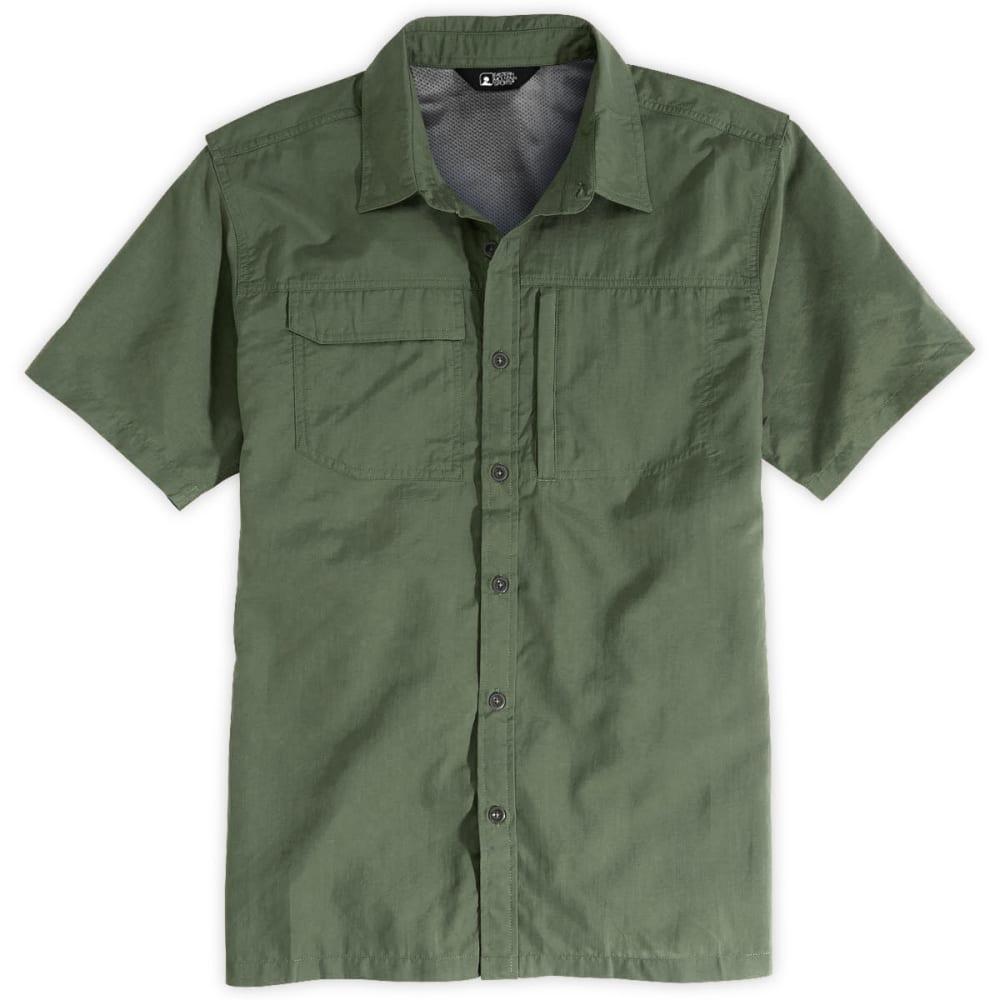 EMS Men's Trailhead Short-Sleeve Shirt - CLOVER