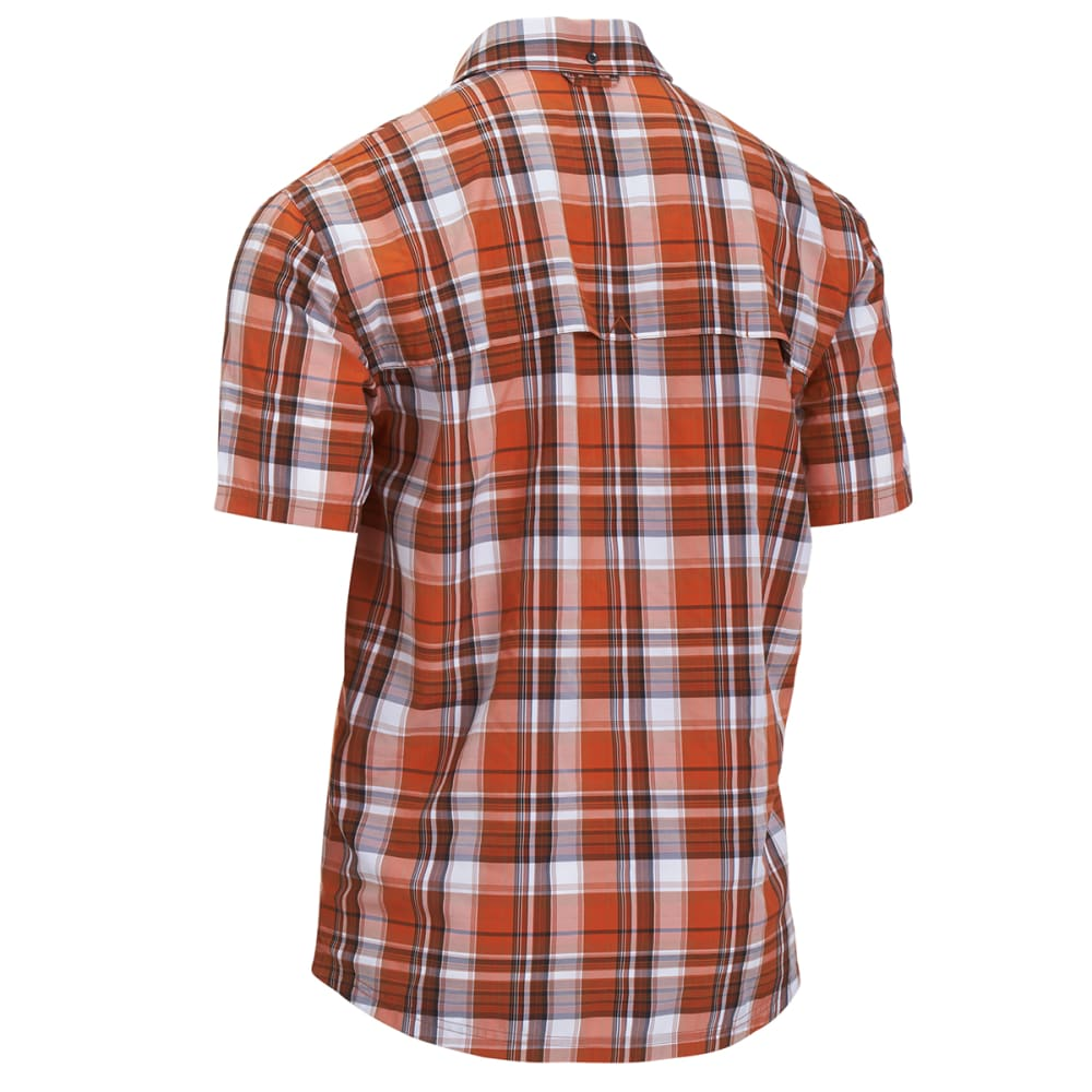 EMS® Men's Journey Plaid Short-Sleeve Shirt - GOLD