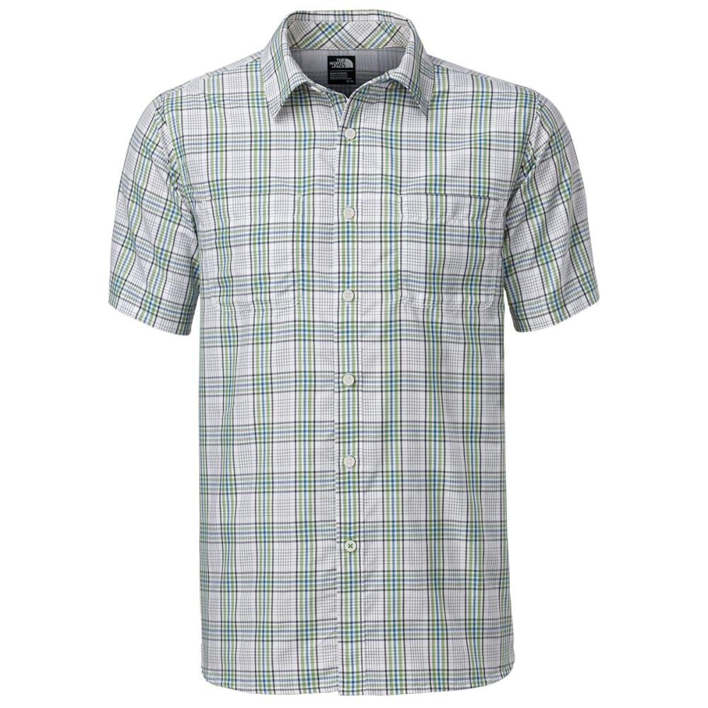 THE NORTH FACE Men's Off the Grid Plaid Shirt - TNF WHITE