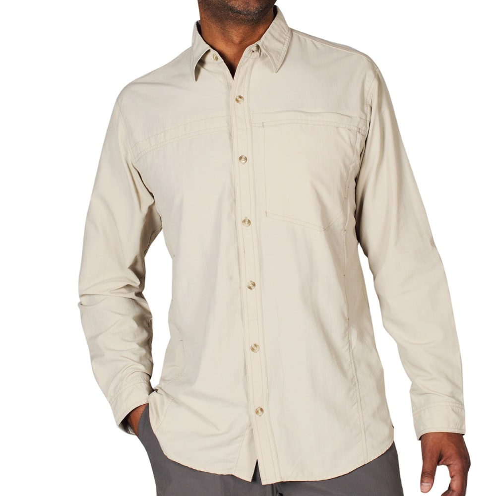 EXOFFICIO Men's BugsAway® Breez'r Shirt, L/S   - BONE