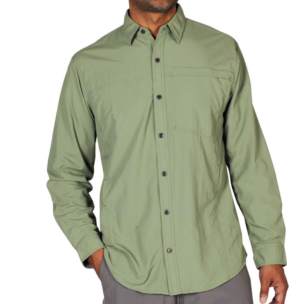 EXOFFICIO Men's BugsAway® Breez'r Shirt, L/S   - DUSTY OLIVE