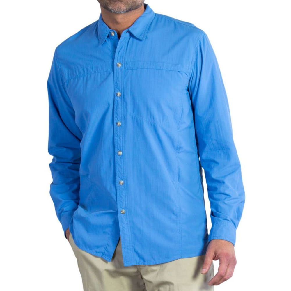EXOFFICIO Men's BugsAway® Breez'r Shirt, L/S     - RIVIERA
