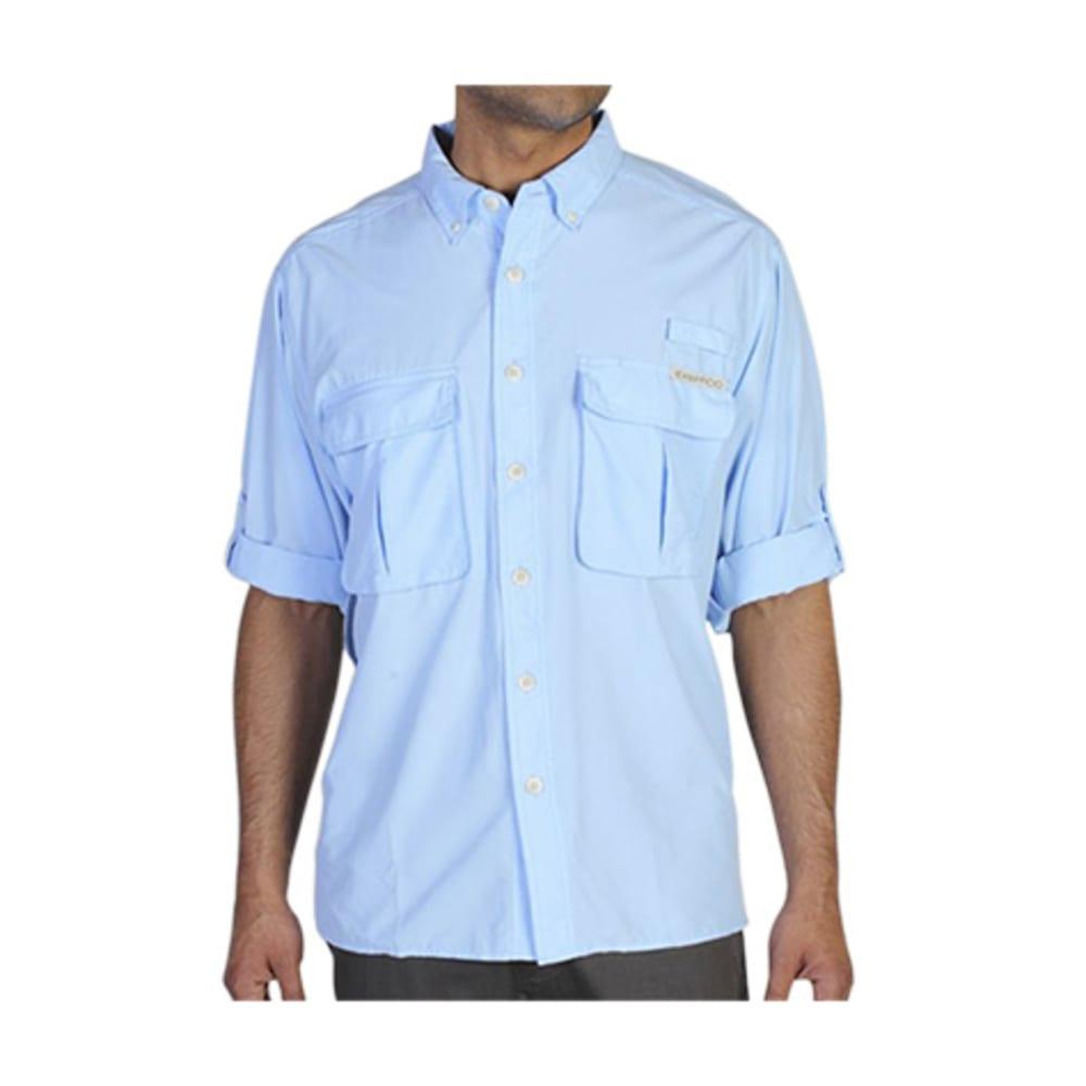 EXOFFICIO Men's Air Strip Shirt, L/S  - 5224-LT LAPIS