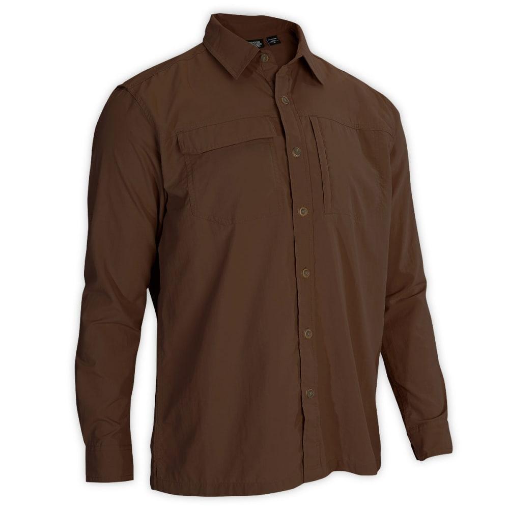 EMS® Men's Trailhead Long-Sleeve Shirt  - DARK EARTH