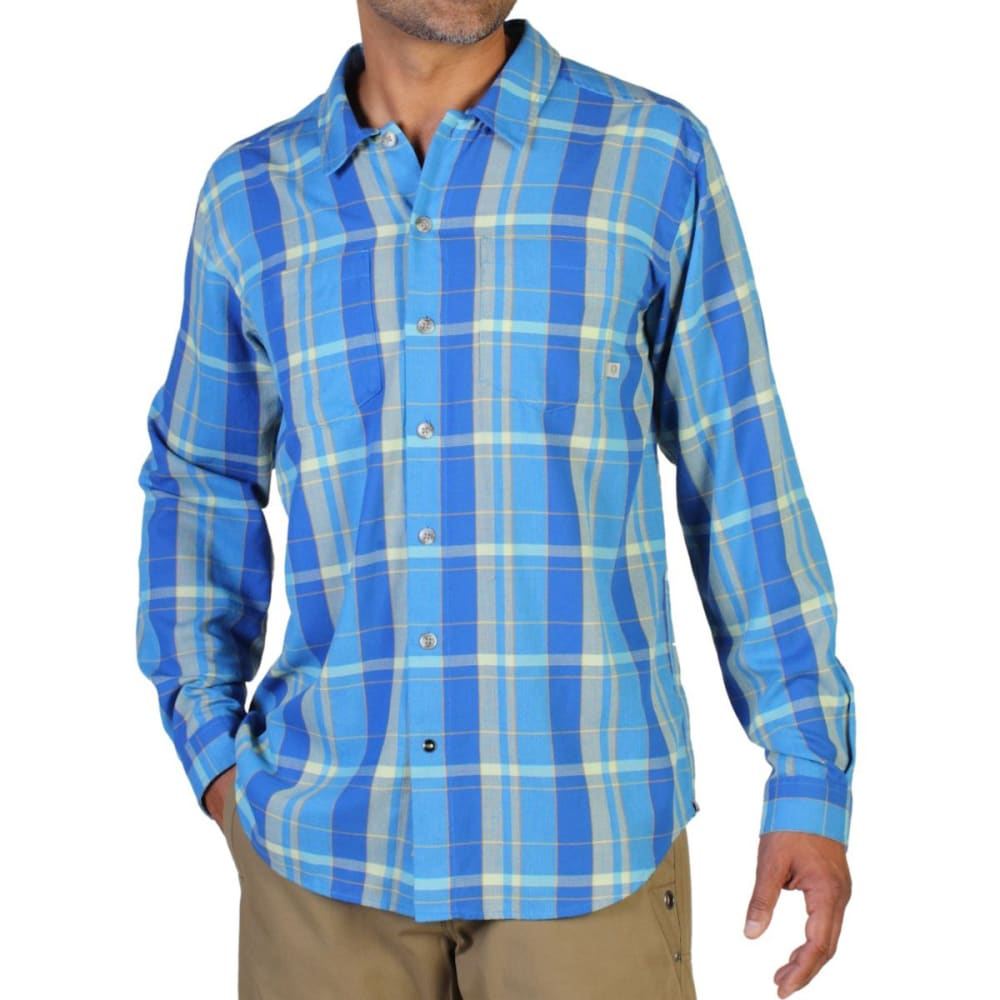 EXOFFICIO Men's BugsAway® Talisman Plaid Shirt, L/S   - MALIBU