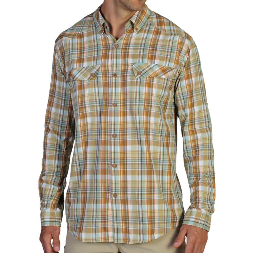 EXOFFICIO Men's Minimo Plaid Shirt, L/S - TWIGS