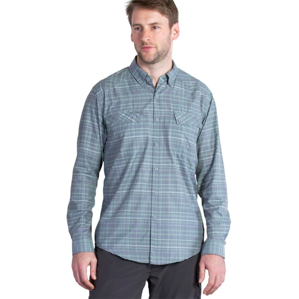 EXOFFICIO Men's Minimo Plaid Shirt, L/S   - ROAD 1001-2603