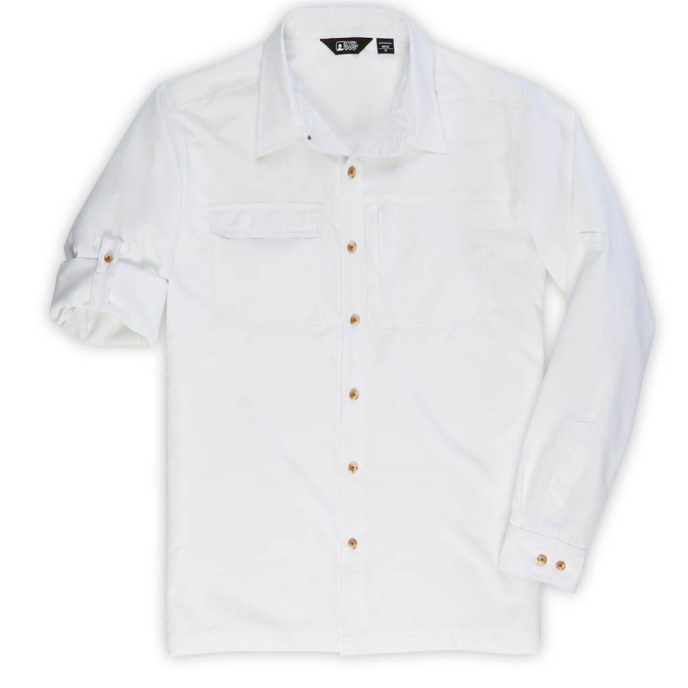 EMS® Men's Compass Long-Sleeve Shirt  - BRIGHT WHITE