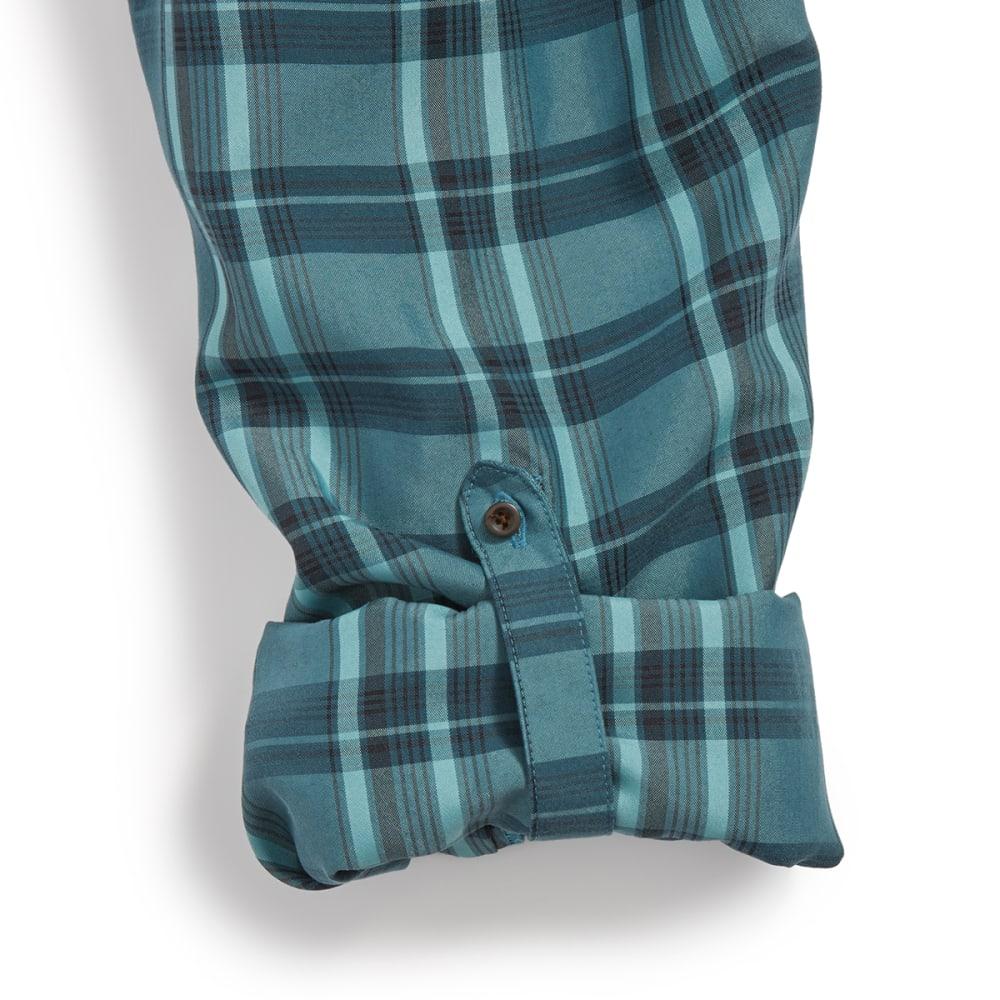 EMS® Men's Journey Long Sleeve Plaid Shirt - REFLECTING POND
