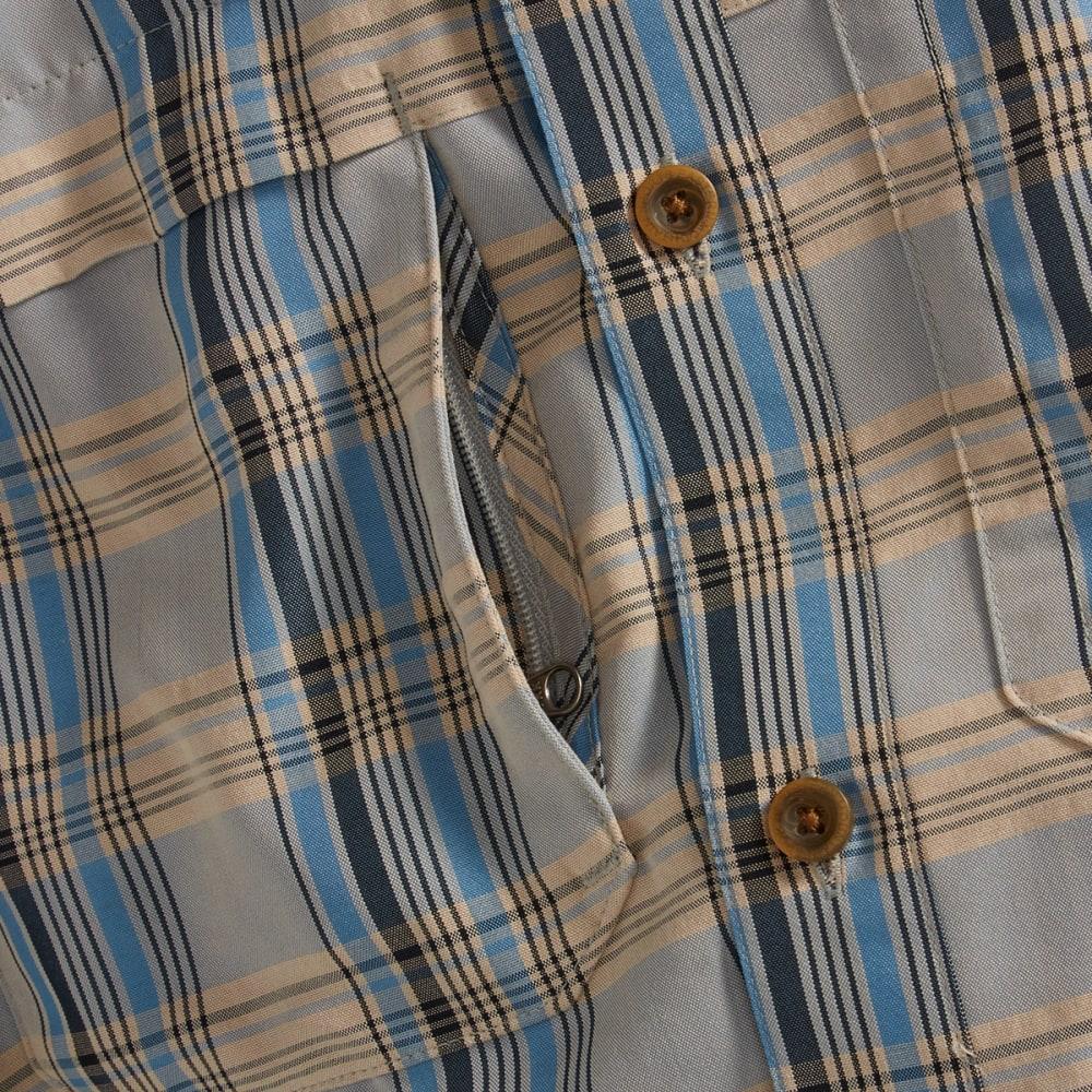 EMS® Men's Journey Long Sleeve Plaid Shirt - WHITE PEPPER