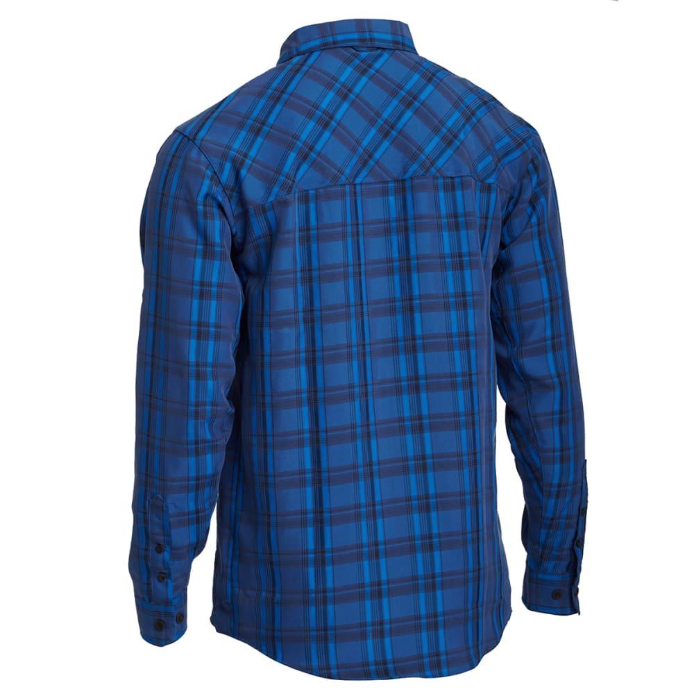 Ems men 39 s journey long sleeve plaid shirt for Mens plaid shirts long sleeve