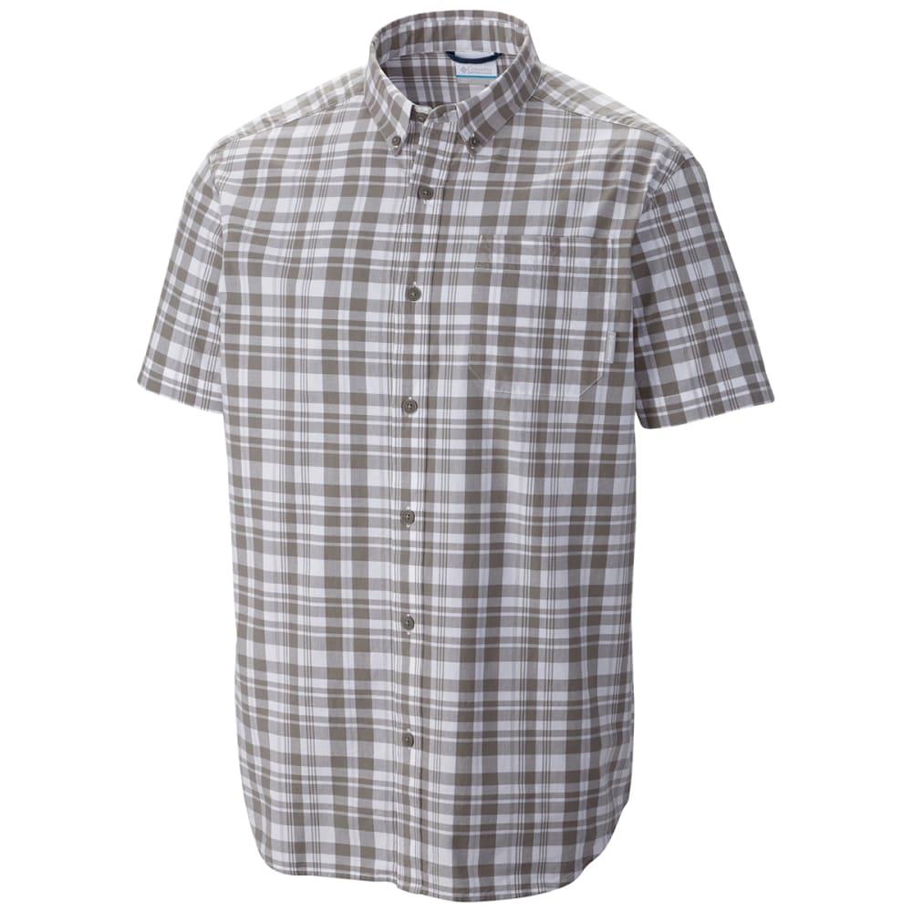 COLUMBIA Men's Rapid Rivers II Shirt - LIGHT GREY
