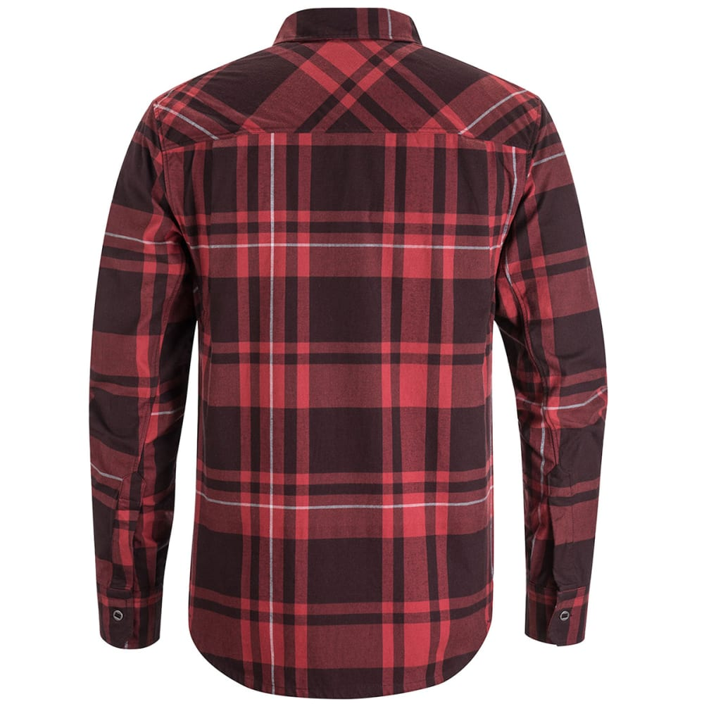 BLACK DIAMOND Men's Stretch Technician Long-Sleeve Shirt - TORCH-PLAID