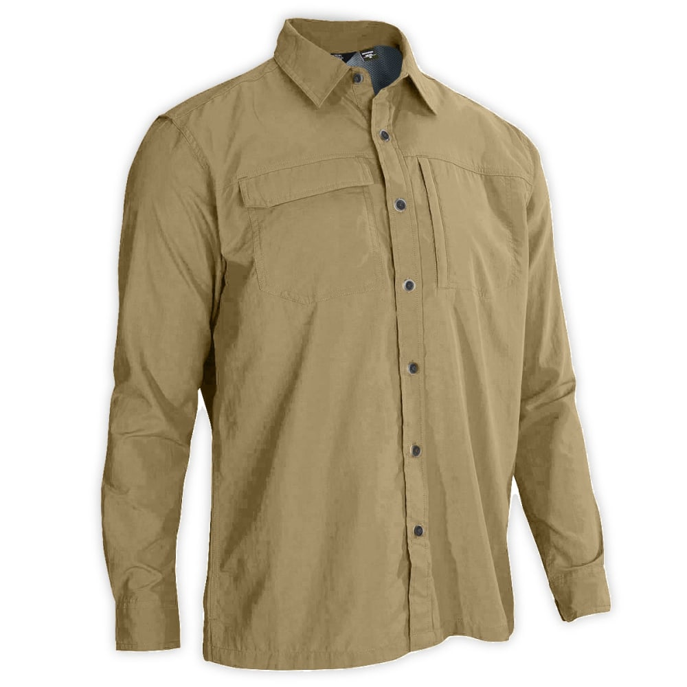 Ems men 39 s trailhead long sleeve shirt for Mens outdoor long sleeve shirts