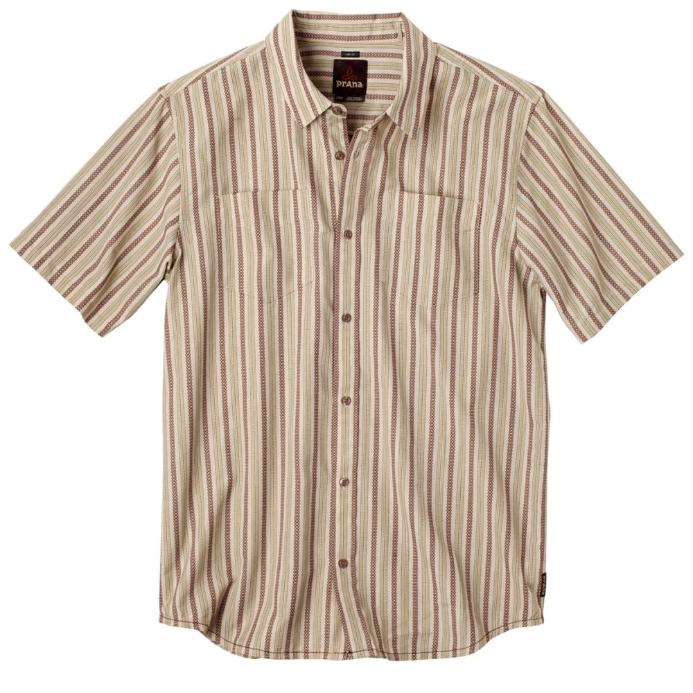 PRANA Men's Curtis Shirt, S/S - STONE