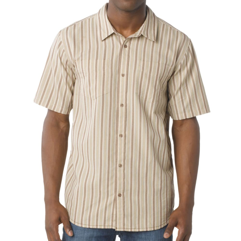 PRANA Men's Curtis Shirt, S/S - STONE