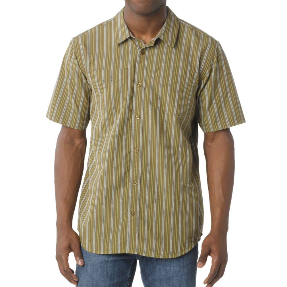 PRANA Men's Curtis Shirt, S/S - MOSS