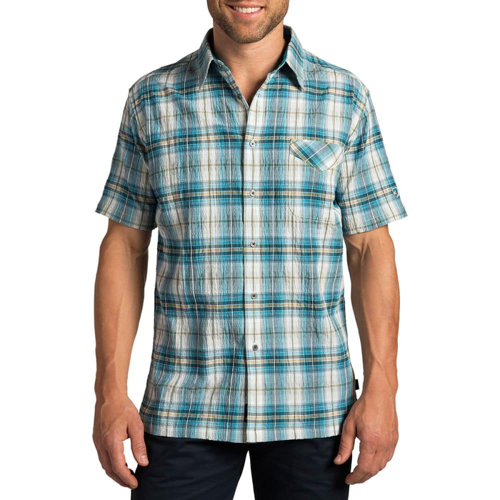 KÜHL Men's Stallion Shirt, S/S  - SKUBA BLUE