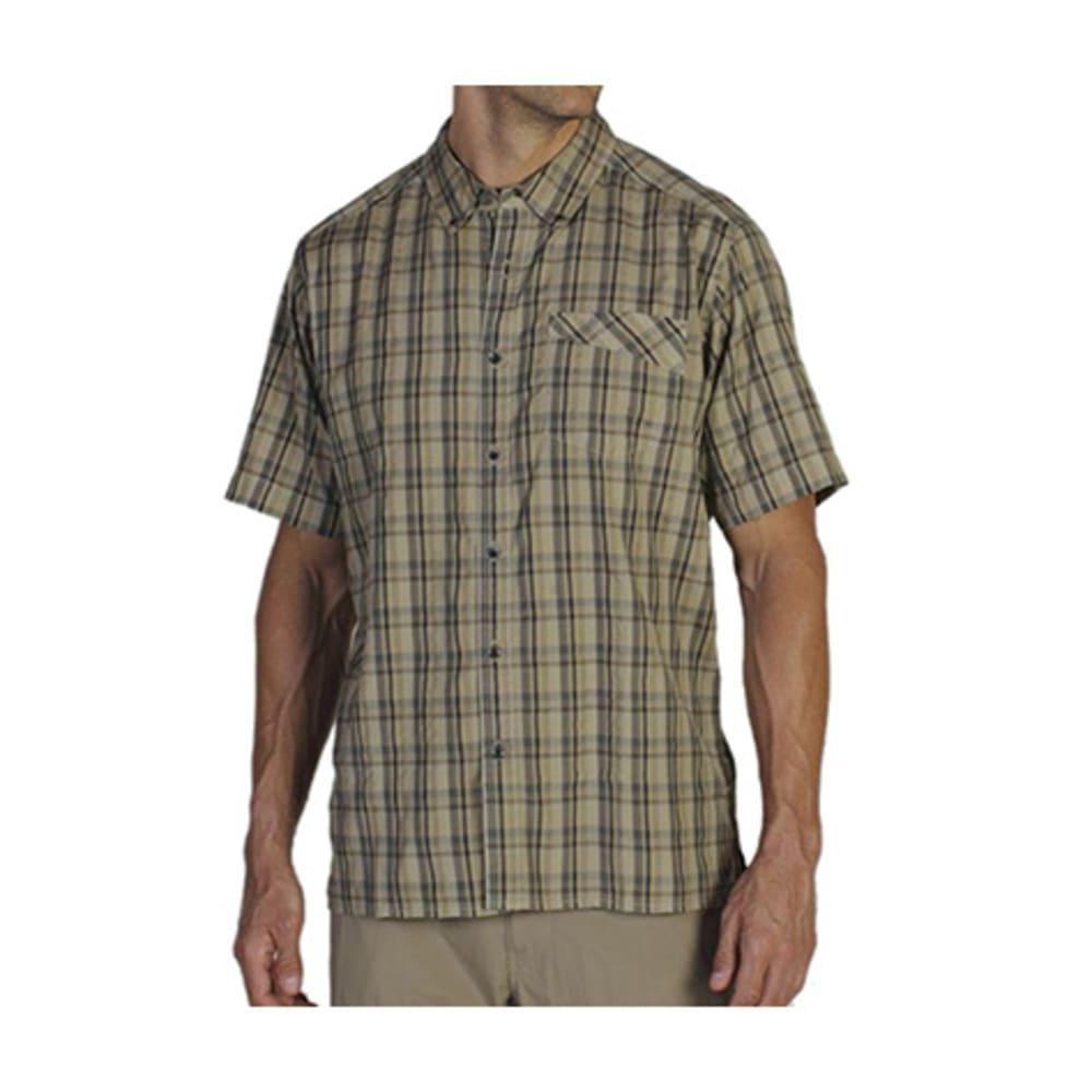 EXOFFICIO Men's Tenby Shirt, S/S  - LT KHAKI PLAID