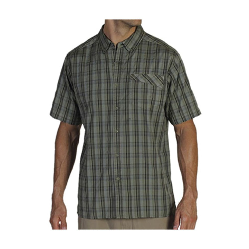 EXOFFICIO Men's Tenby Shirt, S/S   - ALGAE