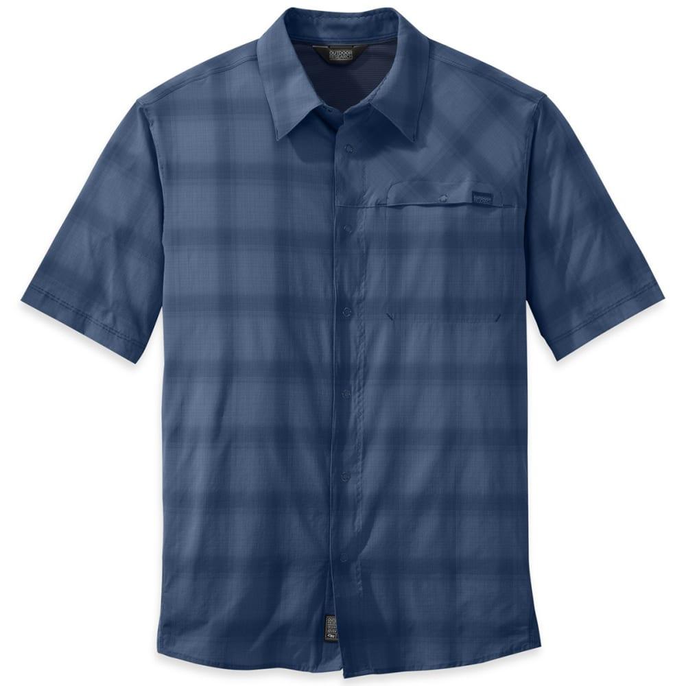 OUTDOOR RESEARCH Men's Astroman Short-Sleeve Shirt - DUSK/NIGHT